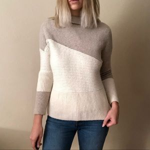 {French Connection} wool blend sweater